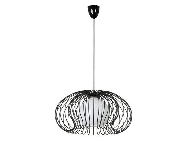 Moderna Visilica – MERSEY black modernog dizajna,kvalitetna, crne boje - online shop - Commodo Home & Living