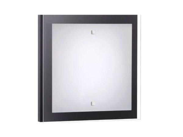 Moderna Plafonjerka - OSAKA SQUARE S modernog dizajna,kvalitetna , crne boje - internet prodaja - Commodo Home & Living