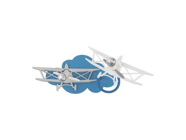 Moderni Plafonski spot - PLANE - modernog dizajna,kvalitetna , plave i sive boje - online shop - Commodo Home & Living