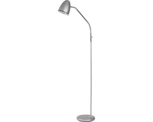 Moderna Podna lampa - TAMPA silver modernog dizajna,kvalitetna, sive boje - online shop - Commodo Home & Living