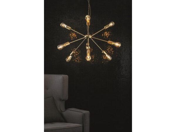 Moderni Luster – ROD modernog dizajna,kvalitetan , zlatne boje - online shop - Commodo Home & Living