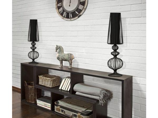 Moderna Stona Lampa AVIERO L modernog dizajna,kvalitetna, crne boje - online shop - Commodo Home & Living