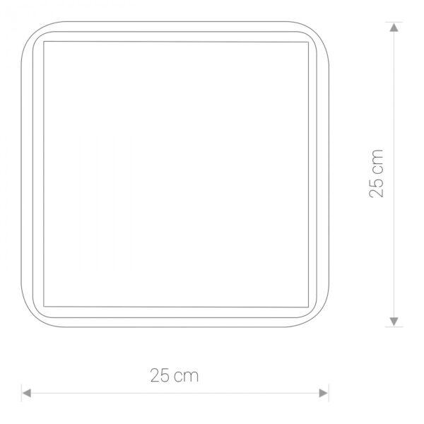 Moderna Plafonjerka - TAHOE II modernog dizajna ,kvalitetna , bijele boje - internet prodaja - Commodo Home & Living