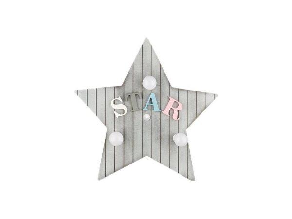 Moderna Plafonska lampa - TOY STAR M modernog dizajna,kvalitetna , sive boje - online shop - Commodo Home & Living