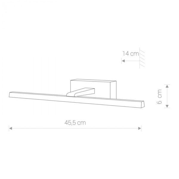 Moderna Zidna lampa - VAN GOGH BLACK S modernog dizajna,kvalitetna , crne boje - online shop - Commodo Home & Living
