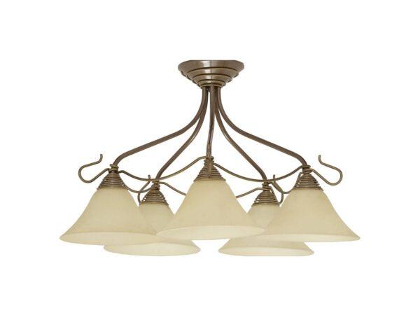 Moderni Luster VICTORIA gold V I modernog dizajna,kvalitetan - online shop - Commodo Home & Living