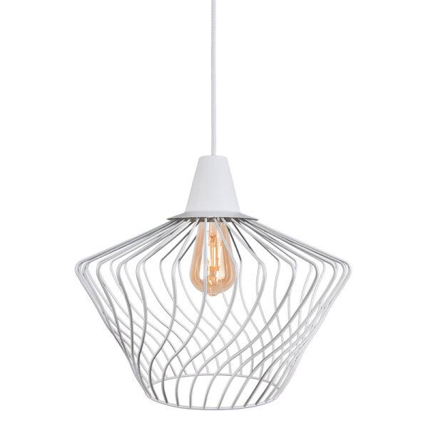 Moderna Visilica - WAVE WHITE S - modernog dizajna,kvalitetana , bijele boje - online shop - Commodo Home & Living