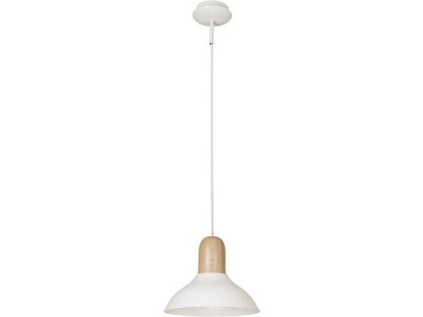 Moderna WOOD BOY visilica modernog dizajna,kvalitetana , bijele boje - online shop - Commodo Home & Living