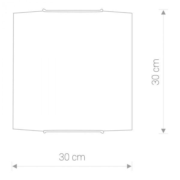 Moderna Plafonjerka -classic 7 modernog dizajna ,kvalitetna , bijele boje - internet prodaja - Commodo Home & Living