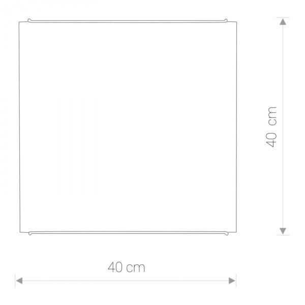 Moderna Plafonjerka -classic 8 modernog dizajna ,kvalitetna , bijele boje - internet prodaja - Commodo Home & Living