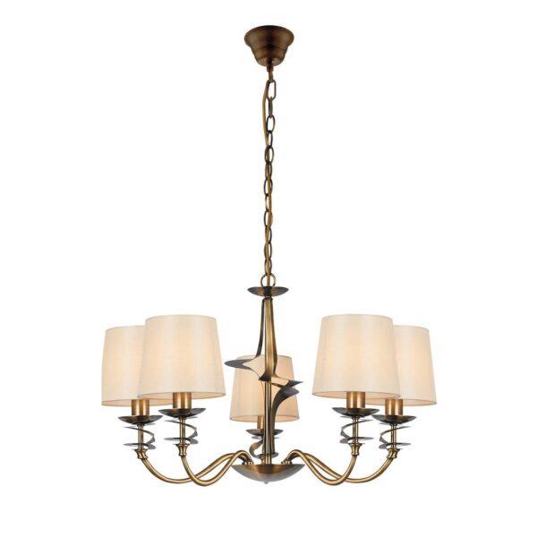 Moderni Luster – JULIET modernog dizajna,kvalitetan , zlatne boje - internet prodaja - Commodo Home & Living