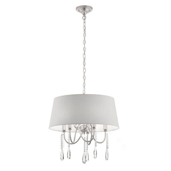 Moderni Luster - ELLARIA modernog dizajna,kvalitetan, sive boje - internet prodaja - Commodo Home & Living