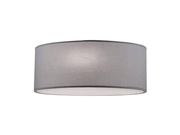 Moderna Plafonjera - BRISTOL modernog dizajna,kvalitetna , sive boje - internet prodaja - Commodo Home & Living