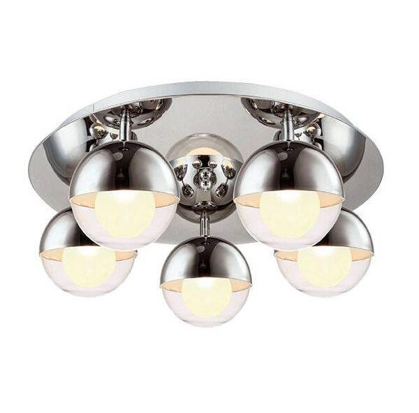 Moderna Plafonska lampa – COUPER modernog dizajna,kvalitetna , sive boje - internet prodaja - Commodo Home & Living