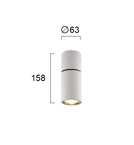 Moderna Spot-lampa – NOBBY modernog dizajna,kvalitetna , bijele - internet prodaja - Commodo Home & Living