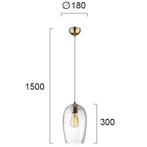 Moderna Visilica - OLENA - modernog dizajna,kvalitetna - internet prodaja - Commodo Home & Living
