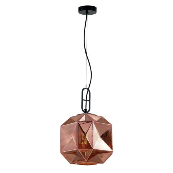 Moderna Visilica - SAMIRA modernog dizajna,kvalitetna, bronzane boje - internet prodaja - Commodo Home & Living
