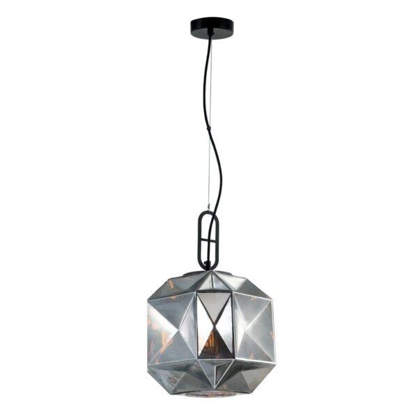 Visilica - SAMIRA modernog dizajna,kvalitetna, srebrne boje - internet prodaja - Commodo Home & Living