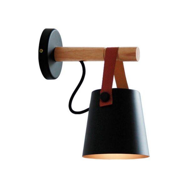 Moderna Zidna lampa - VETRO modernog dizajna,kvalitetna , crne boje - online shop - Commodo Home & Living