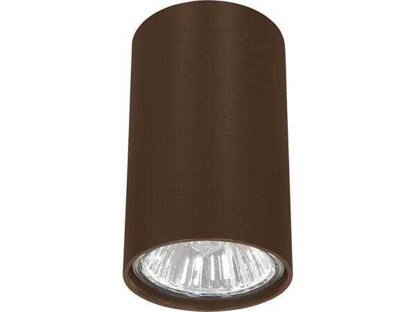 Moderna Plafonska svjetiljka - EYE wenge modernog dizajna ,kvalitetna , braon boje - internet prodaja - Commodo Home & Living