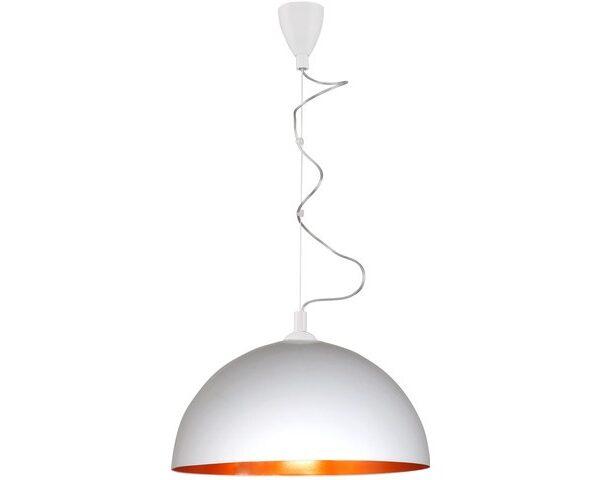 Moderna Visilica HEMISPHERE modernog dizajna ,kvalitetna , bijelo-zlatne boje - internet prodaja - Commodo Home & Living