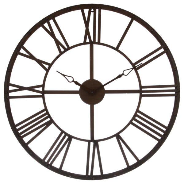 Moderni Zidni Sat metalni Vintage Marron D70 Aksesoari unikatnog dizajna , braon boje - internet prodaja - Commodo Home & LivingAksesoari unikatnog dizajna , crne boje - internet prodaja - Commodo Home & Living