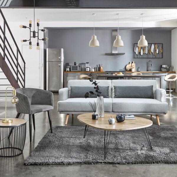 "Moderna Stona lampa ""Keli"" H46 unikatnog dizajna , zlatne boje - Internet prodaja - Commodo Home & Living"