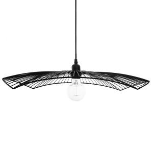 Moderni Luster Cuzco metalni Chapeau Noir D58 unikatnog dizajna , crne boje - Internet prodaja - Commodo Home & Living