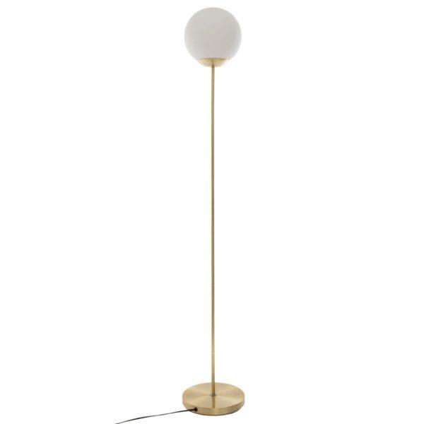 "Moderna Podna lampa ""Dris"" H134 unikatnog dizajna , zlatne boje - Internet prodaja - Commodo Home & Living"