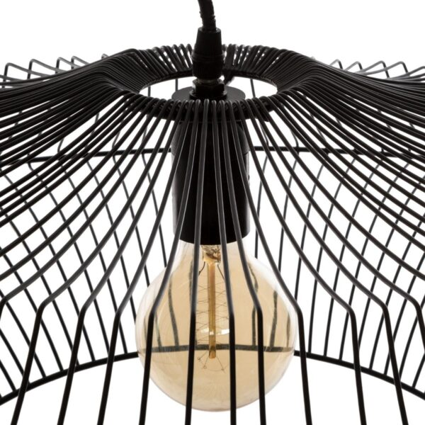 "Moderni Luster ""Yale"" D60 metalni unikatnog dizajna , crne boje - Internet prodaja - Commodo Home & Living"