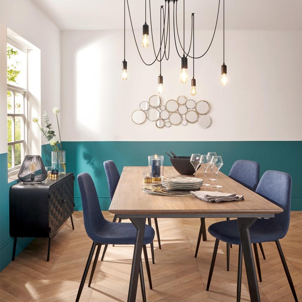 "Moderni Luster ""Udell"" unikatnog dizajna , crne boje - Internet prodaja - Commodo Home & Living"