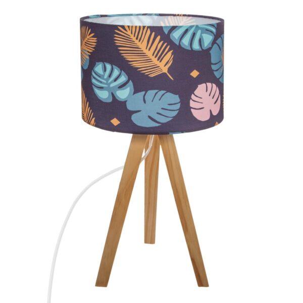 Moderna Stona Lampa Elne unikatnog dizajna , plave boje - Internet prodaja - Commodo Home & Living