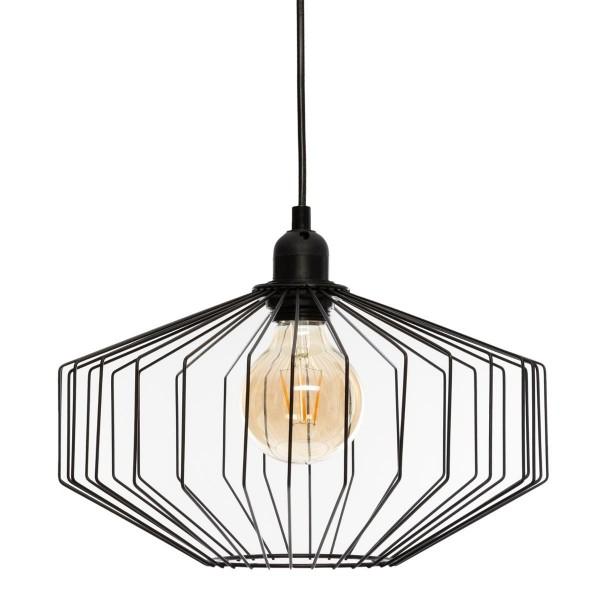 "Moderni Luster ""Azur"" D30 metalni unikatnog dizajna , crne boje - Internet prodaja - Commodo Home & Living"