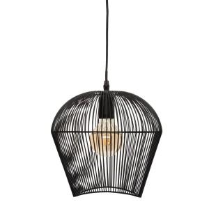 "Moderni Luster ""Jena"" H25 metalni unikatnog dizajna , crne boje - Internet prodaja - Commodo Home & Living"