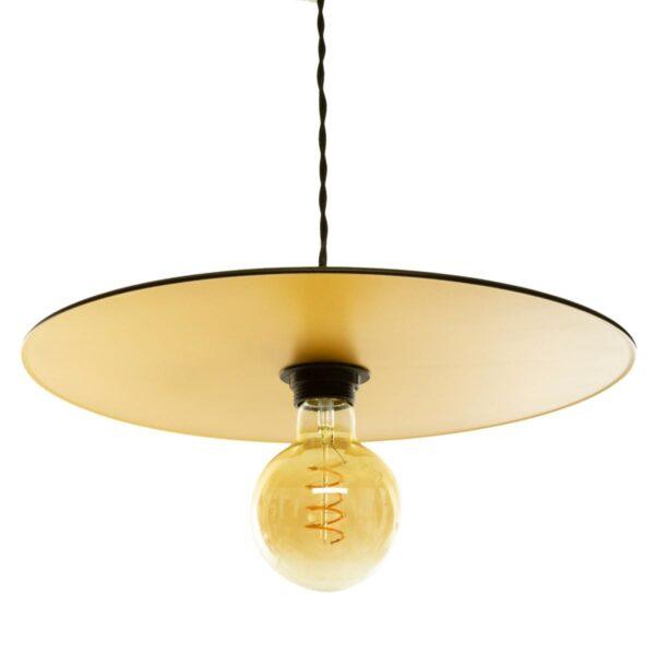 Moderni Luster Lesa D38 metalni unikatnog dizajna , zlatne boje - Internet prodaja - Commodo Home & Living
