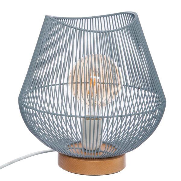 "Moderna Stona Lampa ""Jena"" H25 metalna unikatnog dizajna , plave boje - Internet prodaja - Commodo Home & Living"