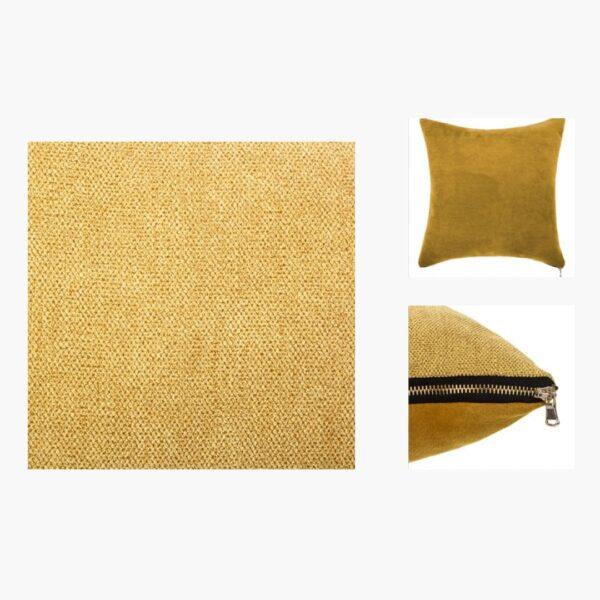 Moderni Jastuk 40x40 - 156129R Aksesoari , udoban i mekan , žute boje - online shop - Commodo Home & Living
