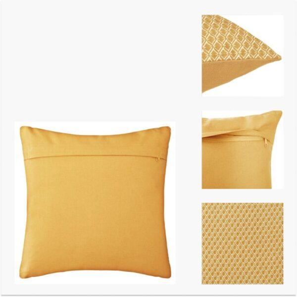 Moderni Jastuk 40x40 - 163960R Aksesoari , udoban i mekan , žute boje - online shop - Commodo Home & Living