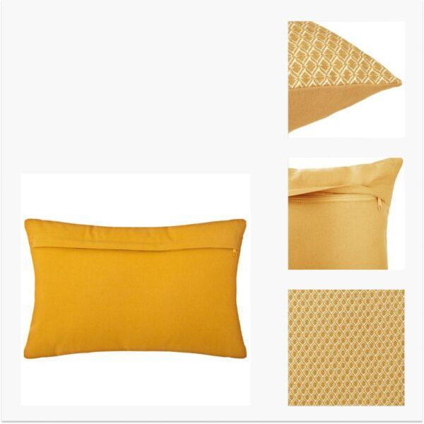 Moderni Jastuk 40x40 - 163961R Aksesoari , udoban i mekan , žute boje - online shop - Commodo Home & Living