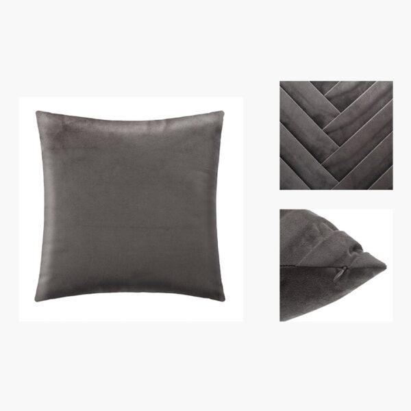 Moderni Jastuk 40x40 - 164108L Aksesoari , udoban i mekan , sive boje - online shop - Commodo Home & Living