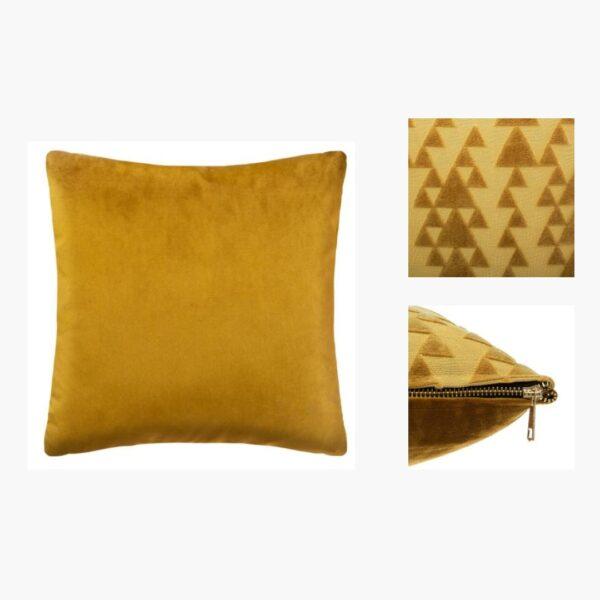 Moderni Jastuk 40x40 - 168805D Aksesoari , udoban i mekan , žute boje - online shop - Commodo Home & Living