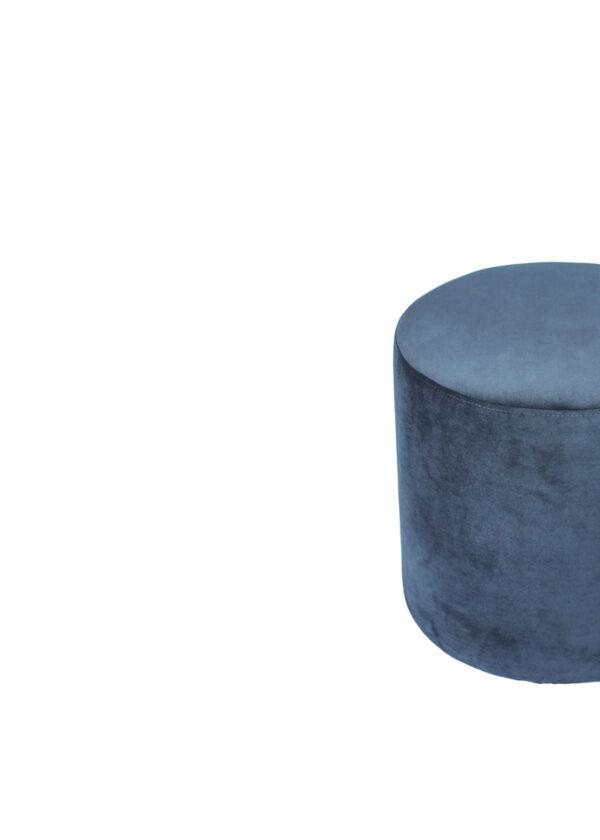 Moderni Tabure New York jednostavnog dizajna,udoban , plave boje - online shop - Commodo Home & Living