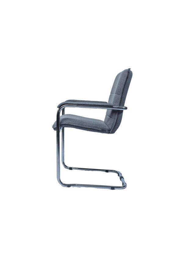 Moderna Konferencijska Stolica Sila udobna,unikatnog dizajna,sive boje - online shop - Commodo Home & Living