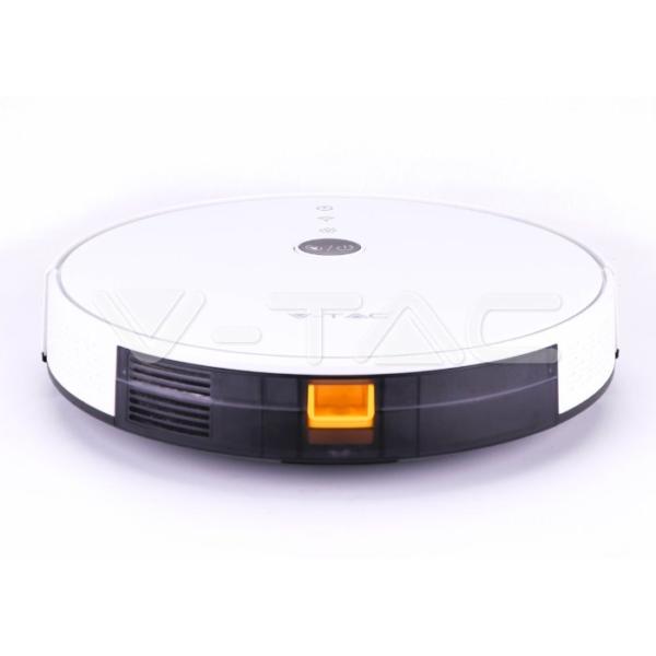 Moderni V-TAC robot usisivač - praktičan,jednostavna i jedinstven,boja:bijela - internet prodaja- Commodo Home & Living