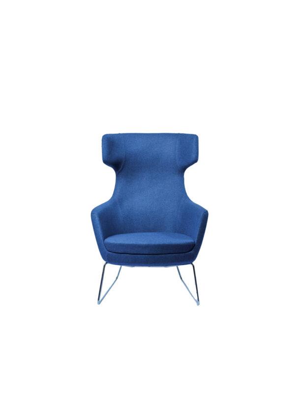 Moderna Fotelja Megan udobna i modernog dizajna, plave boje - online shop - Commodo Home & Living