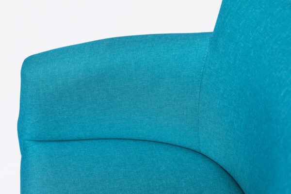 Moderna Fotelja Omega jedinstvena i udobna, plave boje - online shop - Commodo Home & Living