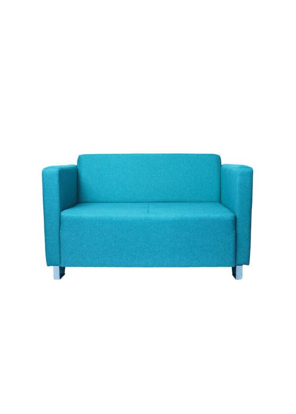 Moderni Dvosjed Max jednostavan i elegantan ,plave boje - internet prodaja - Commodo Home & Living