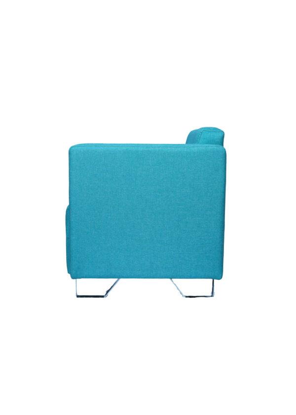 Moderna Fotelja Max jednostavna i elegantna,plave boje - internet prodaja - Commodo Home & Living