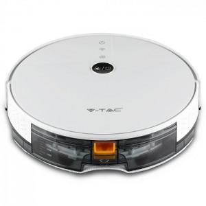Moderni V-TAC robot usisivač - praktičan,jednostavan i jedinstven,boja:bijela - internet prodaja- Commodo Home & Living
