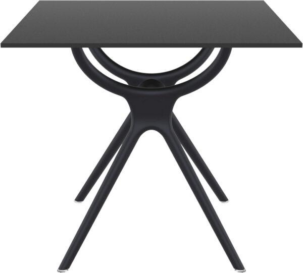 Moderni Sto Air neobičnog dizajna,kvalitetan , crne boje - online shop - Commodo Home & Living